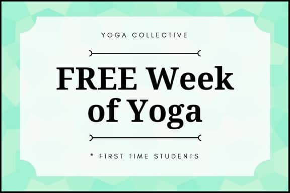 free week of yoga